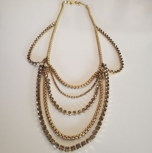 FOSSIL LAYERED NECKLACE